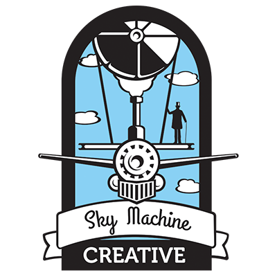 Sky Machine Creative Logo